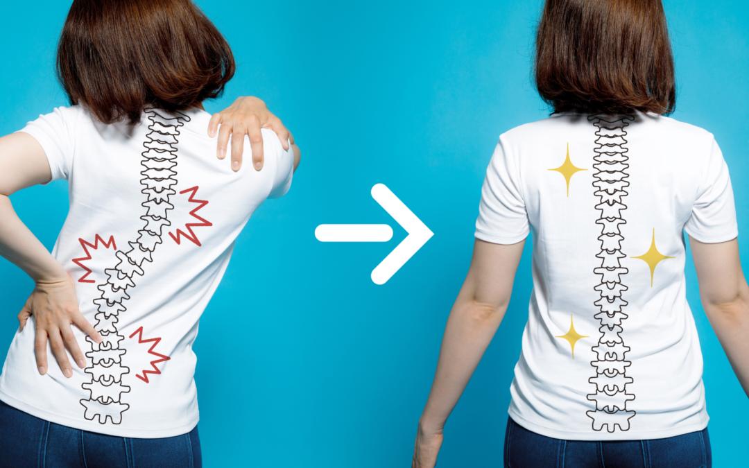 Skoliose: Effektive Behandlung einer Verkrümmung der Wirbelsäule